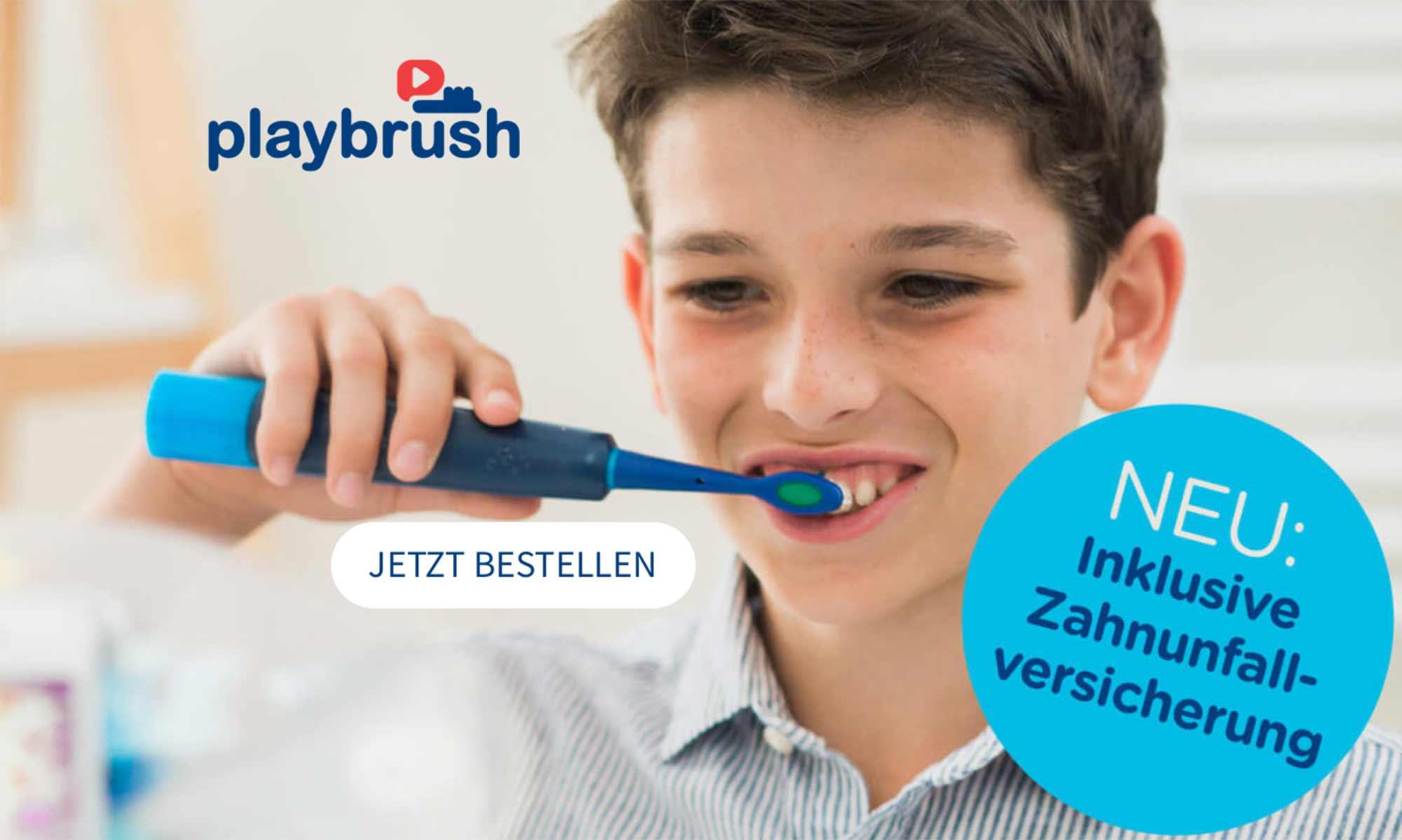 Zahnunfallversicherung für Playbrush Kunden