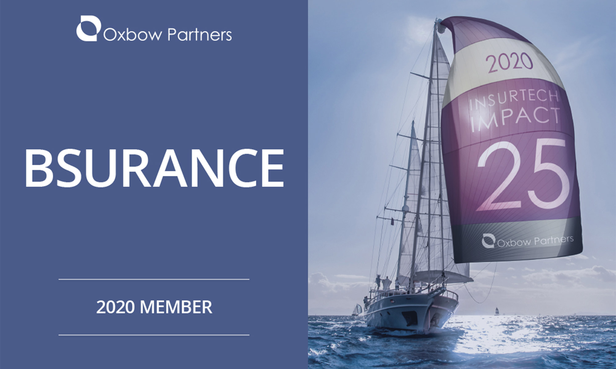 Oxbow Partners Insurtech Impact 25 2020 - bsurance
