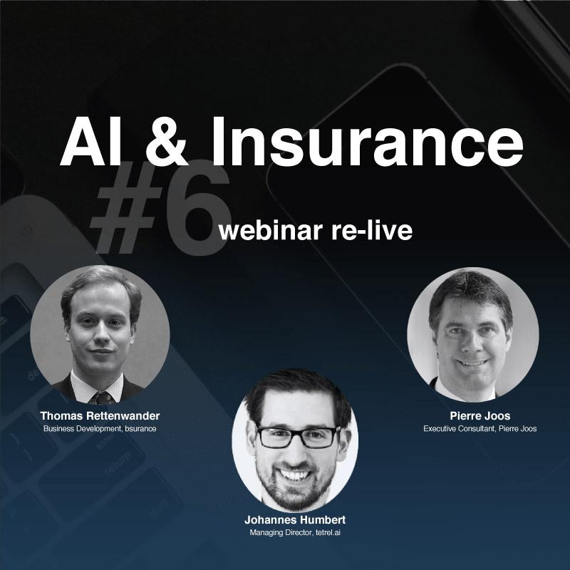 bsurance webinar #6 - AI & Insurance