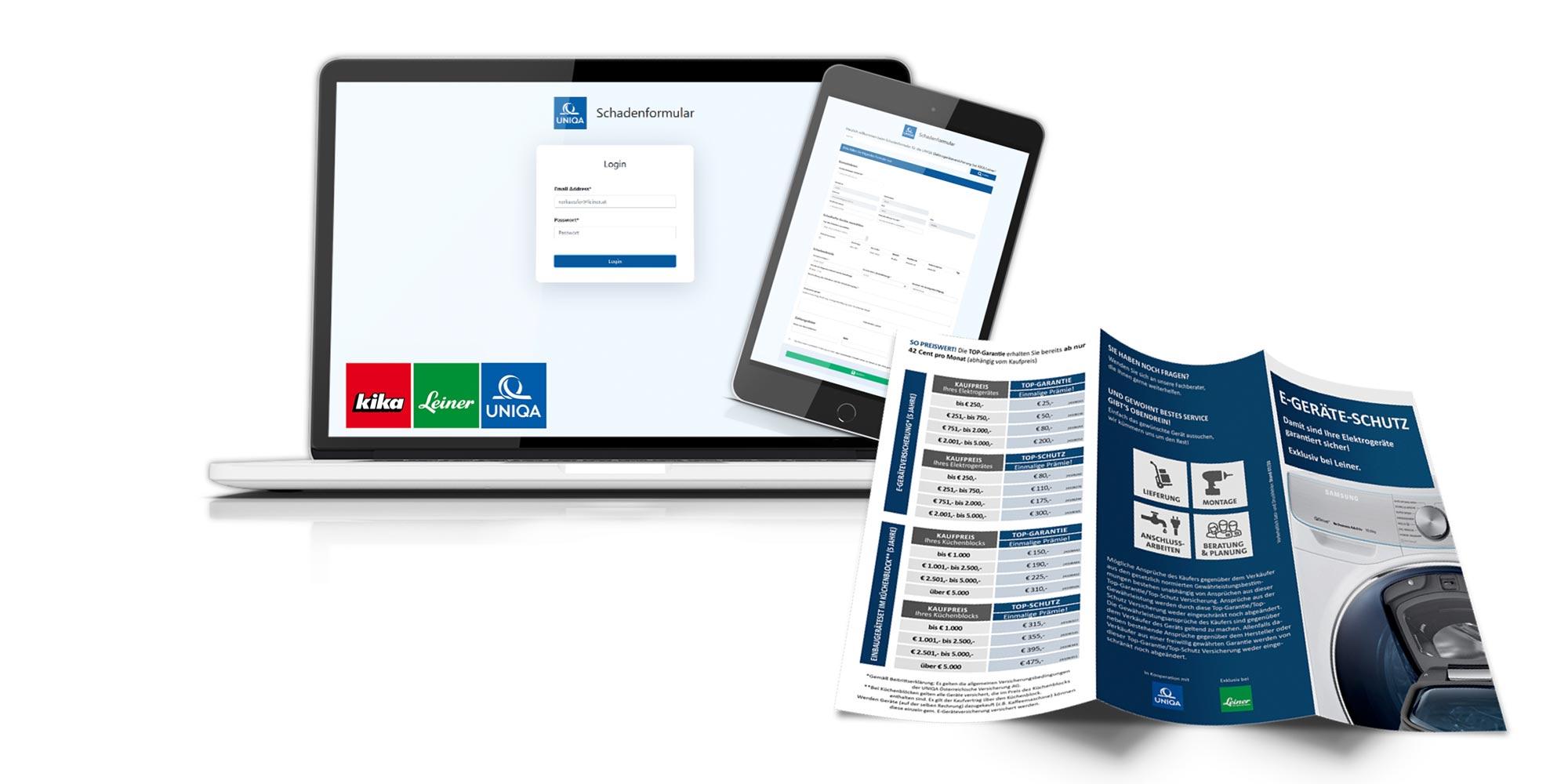 UNIQA - bsurance -kika/Leiner E-Geräteschutz
